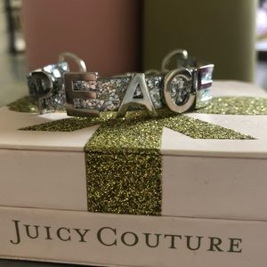 Juicy Couture PEACE Bracelet